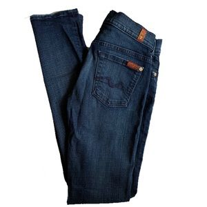 7FAM :: Roxanne skinny jeans sz 26